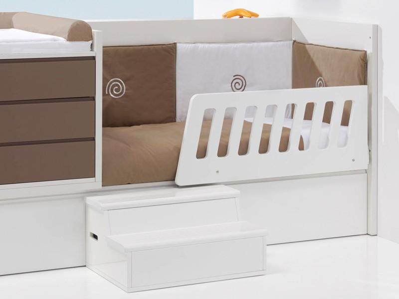 lit combin volutif b b konver en bois. Black Bedroom Furniture Sets. Home Design Ideas
