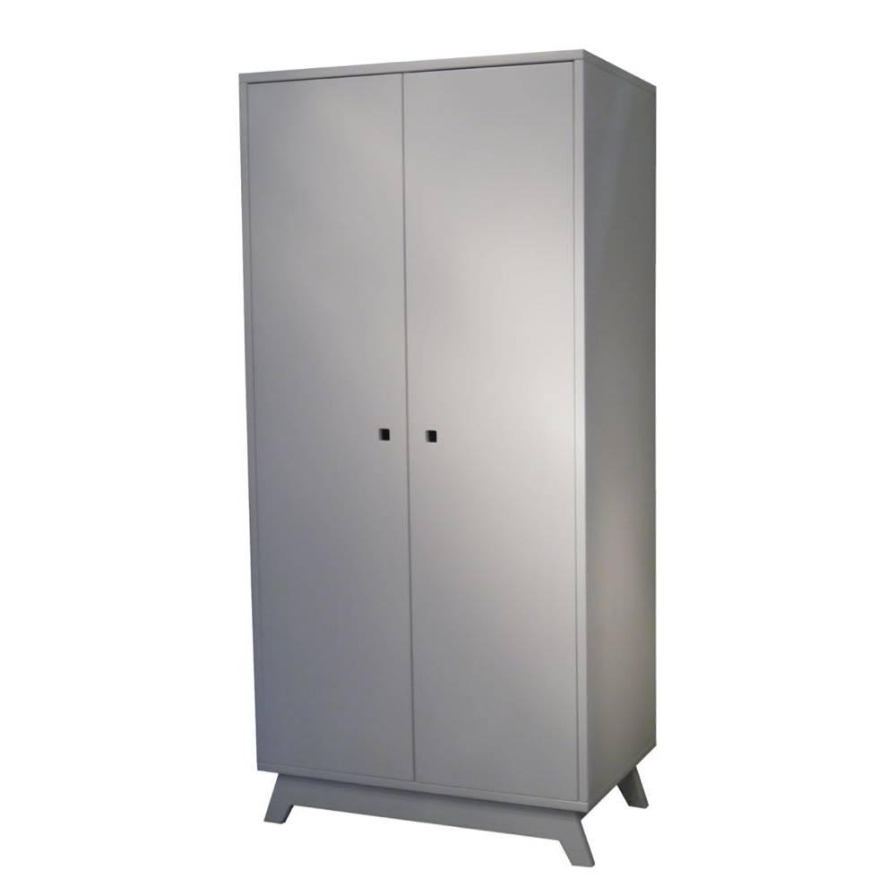 armoire vintage 2 portes. Black Bedroom Furniture Sets. Home Design Ideas