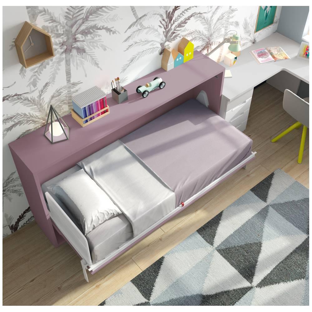 lit relevable horizontal. Black Bedroom Furniture Sets. Home Design Ideas