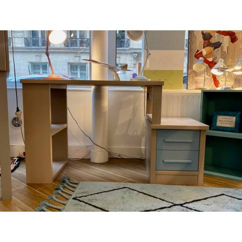 Modèle d'expo : bureau Atlas avec caisson