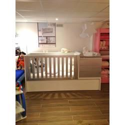 Modèle d'expo : lit bébé évolutif Konver