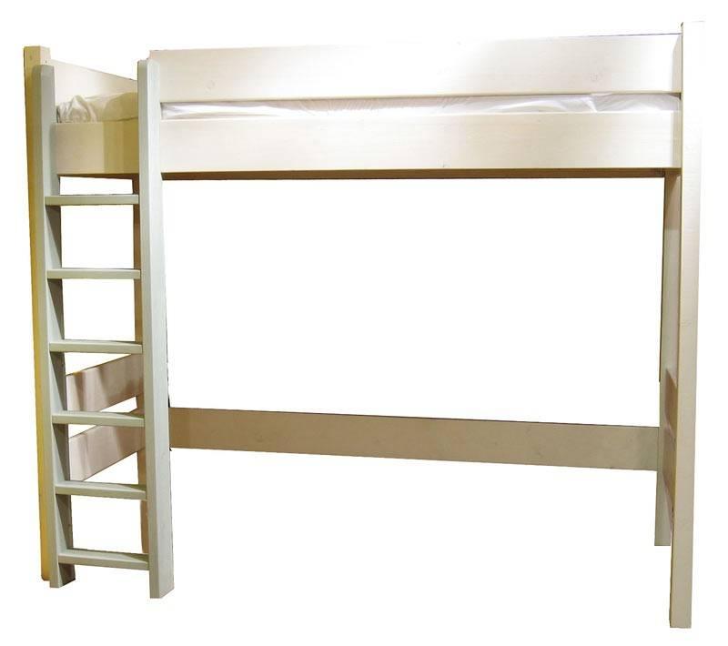 Lit mezzanine enfant bois avec bureau design - Lit mezzanine enfant bois ...