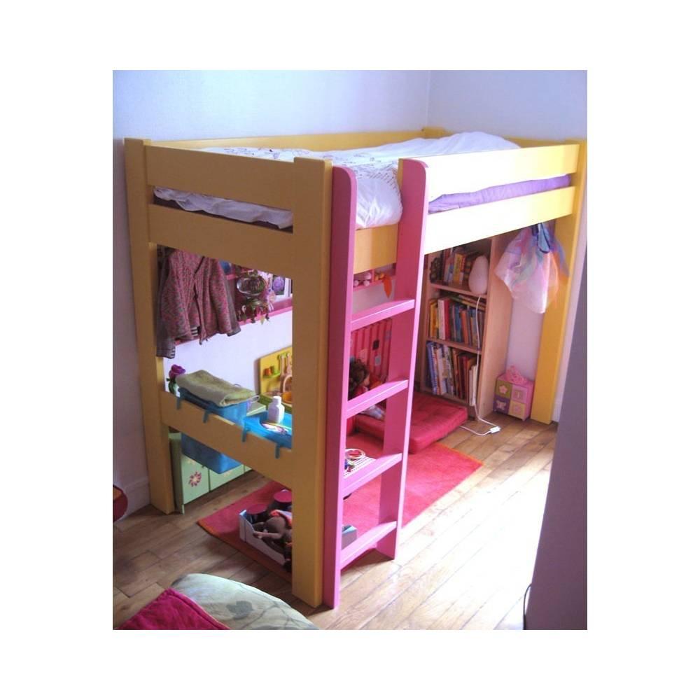 Lit mezzanine pour la chambre de votre enfant lit et meubles adolescent - Lit mezzanine junior ...
