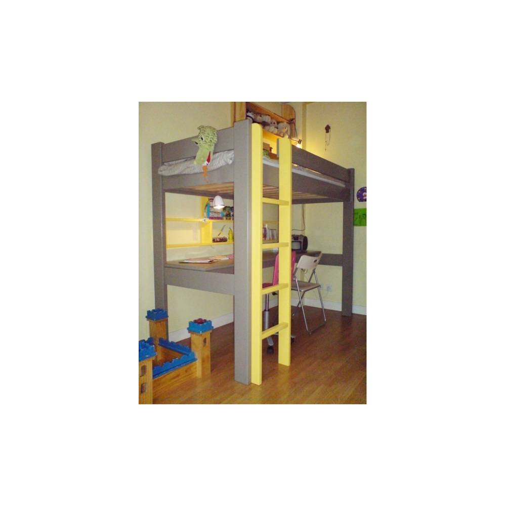 lit mezzanine pour la chambre de votre enfant lit et meubles adolescent. Black Bedroom Furniture Sets. Home Design Ideas
