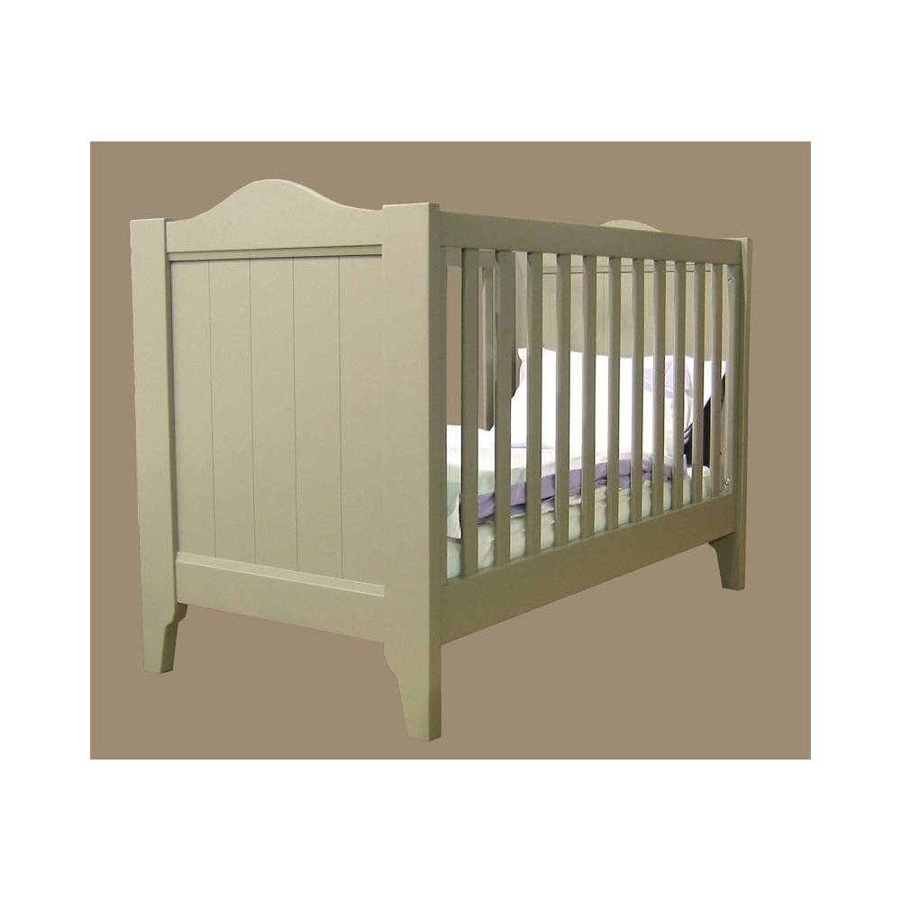Lit barreaux pour b b en bois lit noa - Lit pour bebe casablanca ...