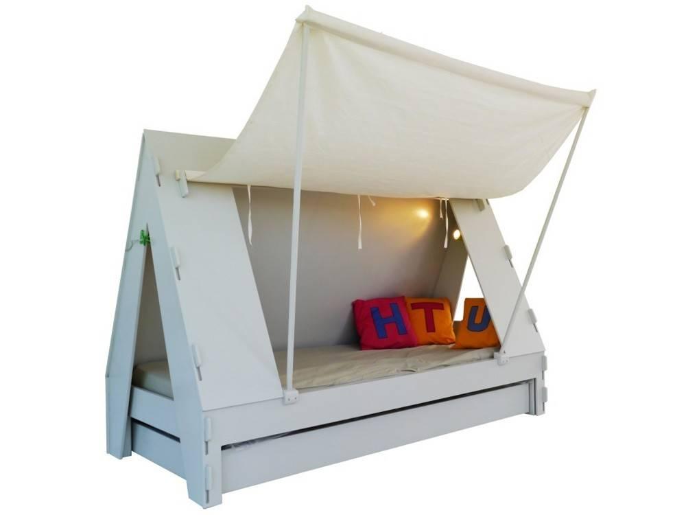 lit tente. Black Bedroom Furniture Sets. Home Design Ideas