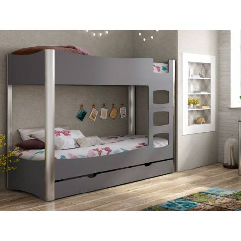 lits superpos s fusion en bois d co chambre ado. Black Bedroom Furniture Sets. Home Design Ideas