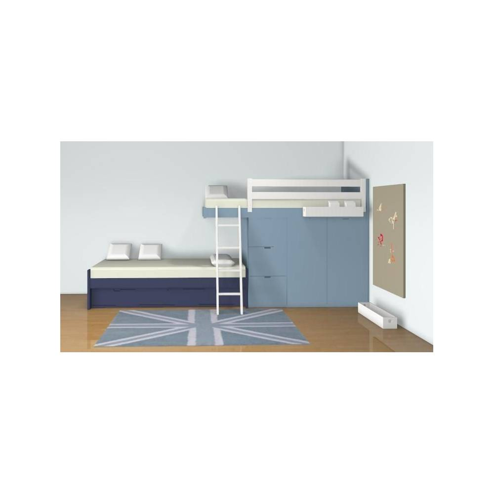 Plans de chambres en 3d anders paris for Plan 3d chambre