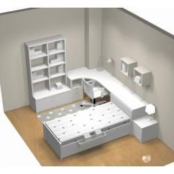 Plans de chambres en 3D