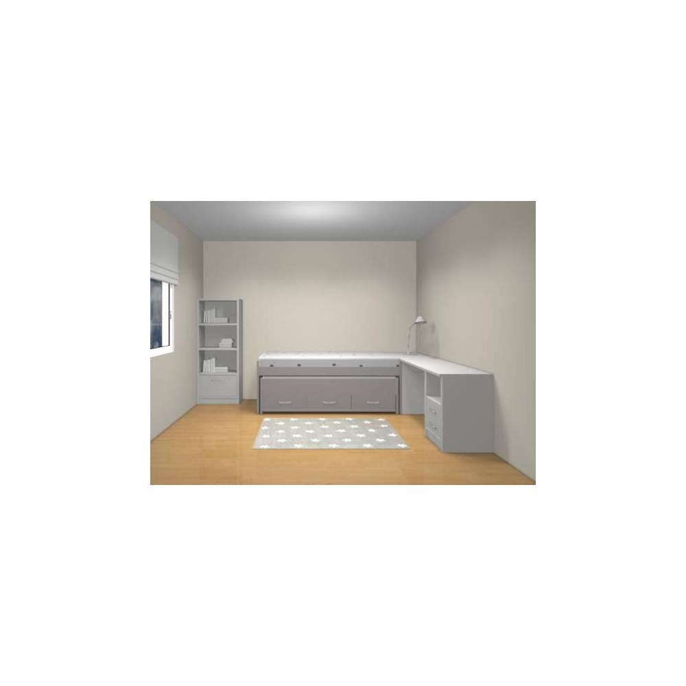 Plans de chambres en 3D Anders Paris