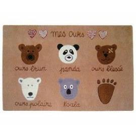 Tapis 'Mes Ours'