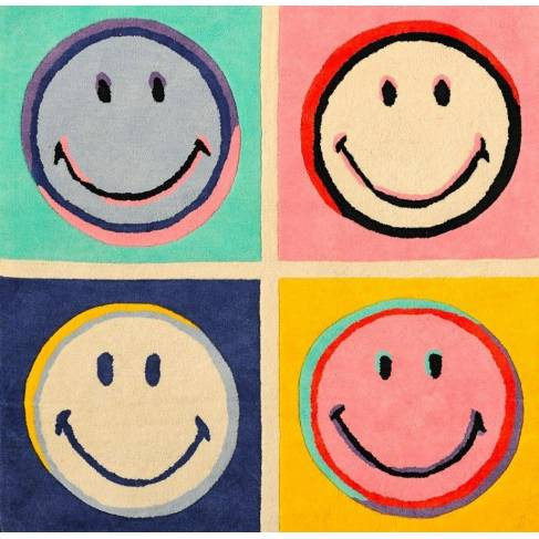 Tapis Andy Smiley multicolor