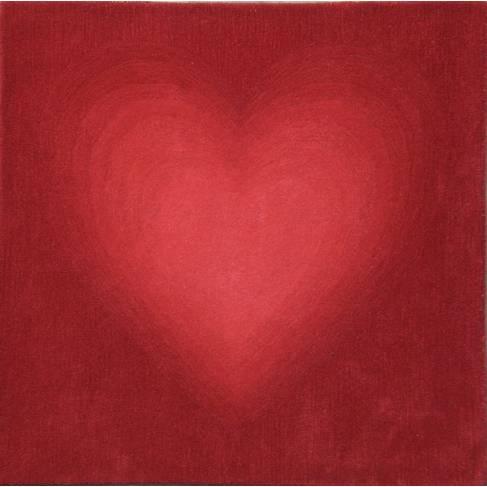 Tapis Coeur dégradé