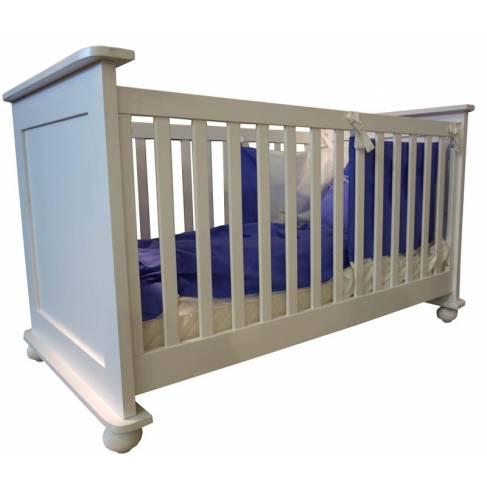 Modèle d'expo : lit bébé Chloé blanc