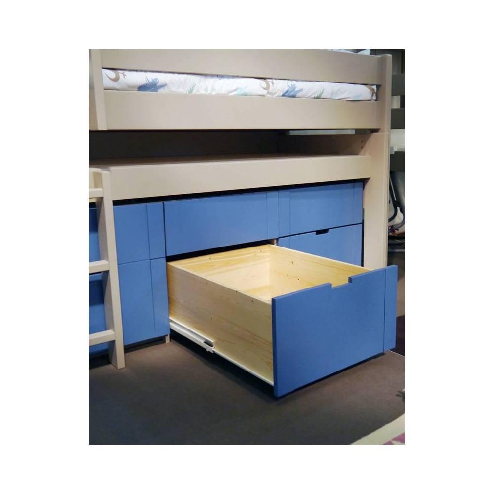 Lit Enfant Mezzanine Sureleve Gigogne Accueil Design Et Mobilier