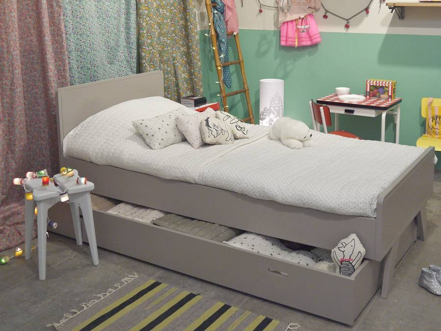 Lit enfant vintage for Lit grand lit