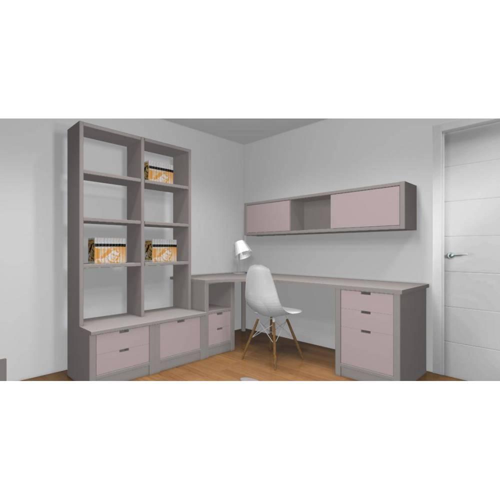 bureau atlas sur mesure. Black Bedroom Furniture Sets. Home Design Ideas