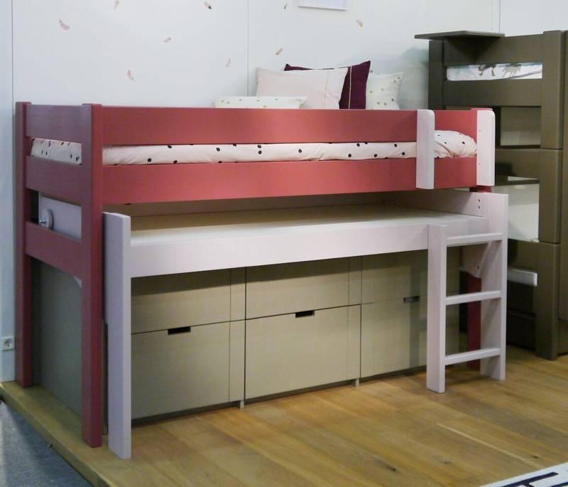 lit mezzanine pour la chambre de votre enfant lit et. Black Bedroom Furniture Sets. Home Design Ideas