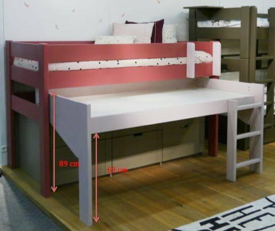 Lit mezzanine pour la chambre de votre enfant - Lit et Meubles ...