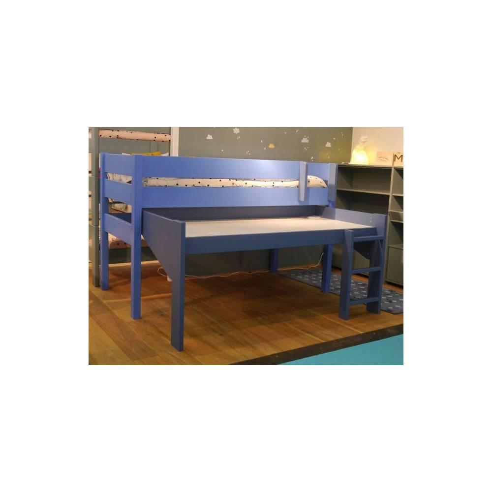 Lit mezzanine pour la chambre de votre enfant lit et meubles adolescent - Lit sureleve pour enfant ...