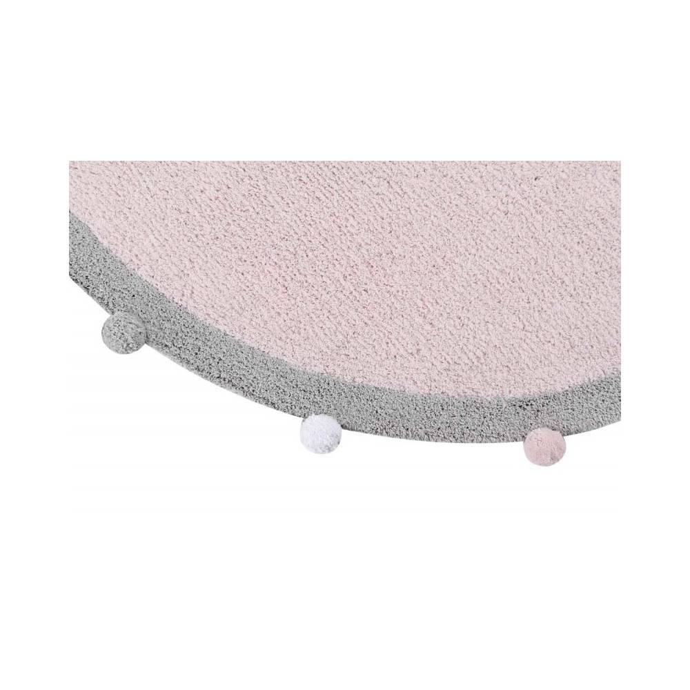 tapis pompons. Black Bedroom Furniture Sets. Home Design Ideas