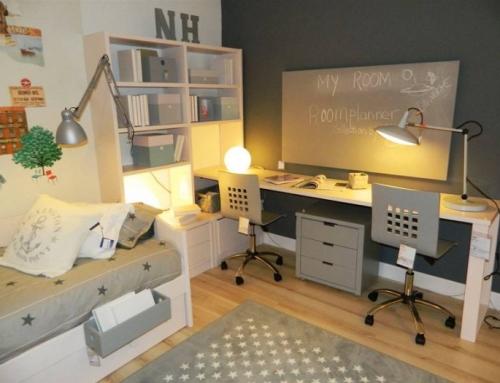 Bureau bibliothèque, un meuble multifonctionnel