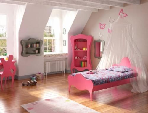 Aménagement d'une chambre pour fille