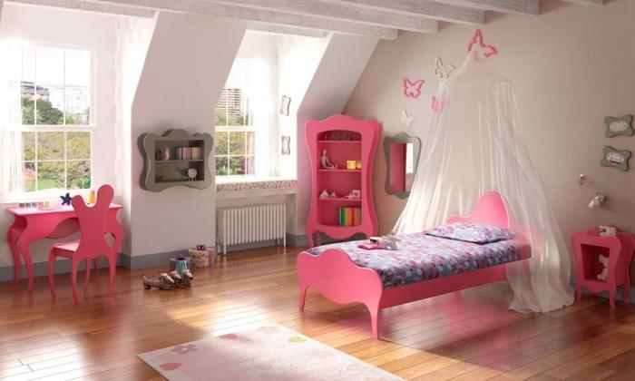 Aménagement de la chambre fille par Anders Paris