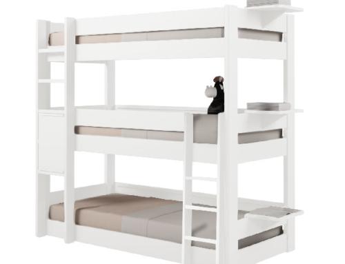Les lits superposés enfants: les incontournables créés par Anders Paris