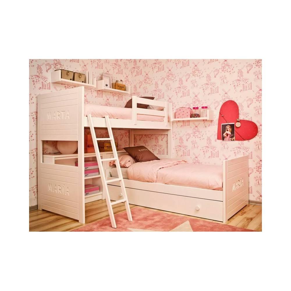 lit tiroir mezzanine adria