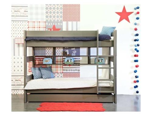 Le lit superposé avec rangement : un must Anders