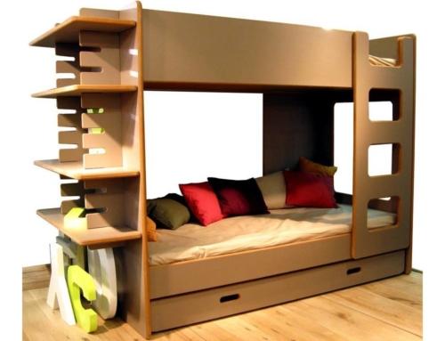 Le lit tiroir : la praticité mise en avant