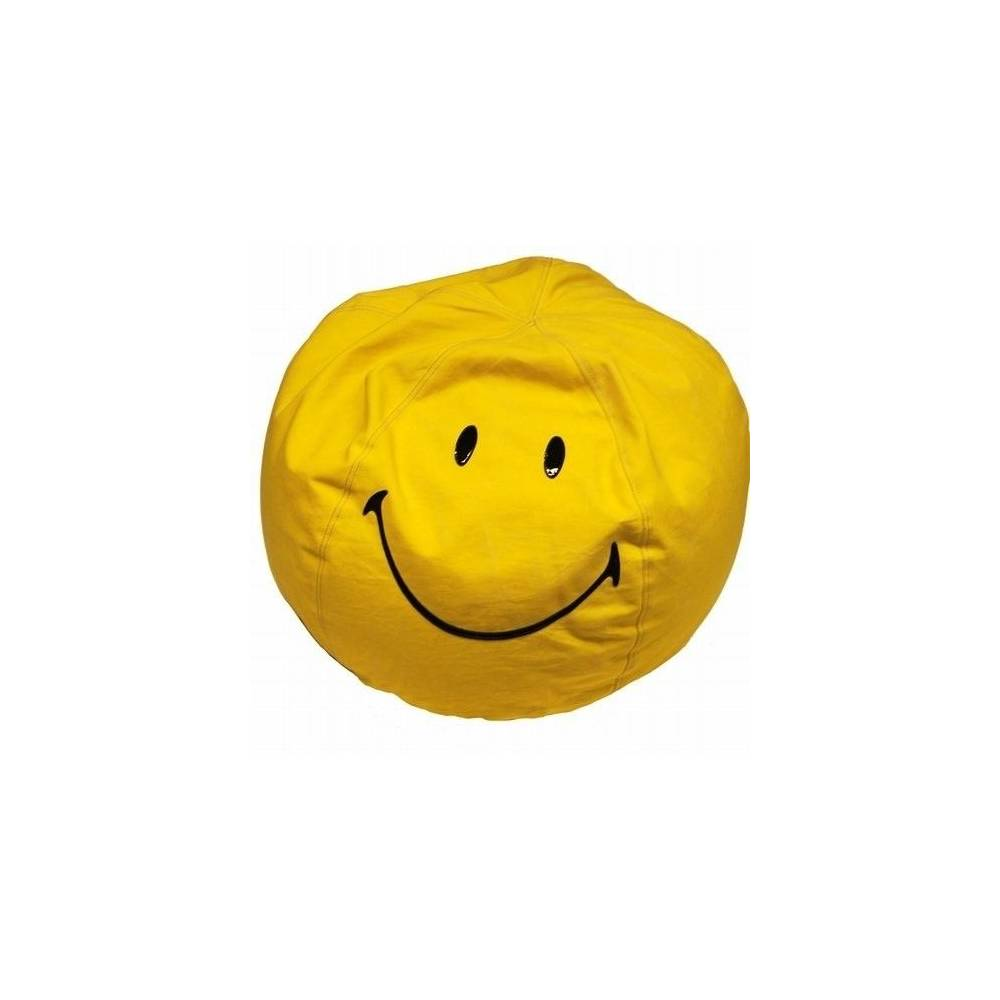 pouf smiley