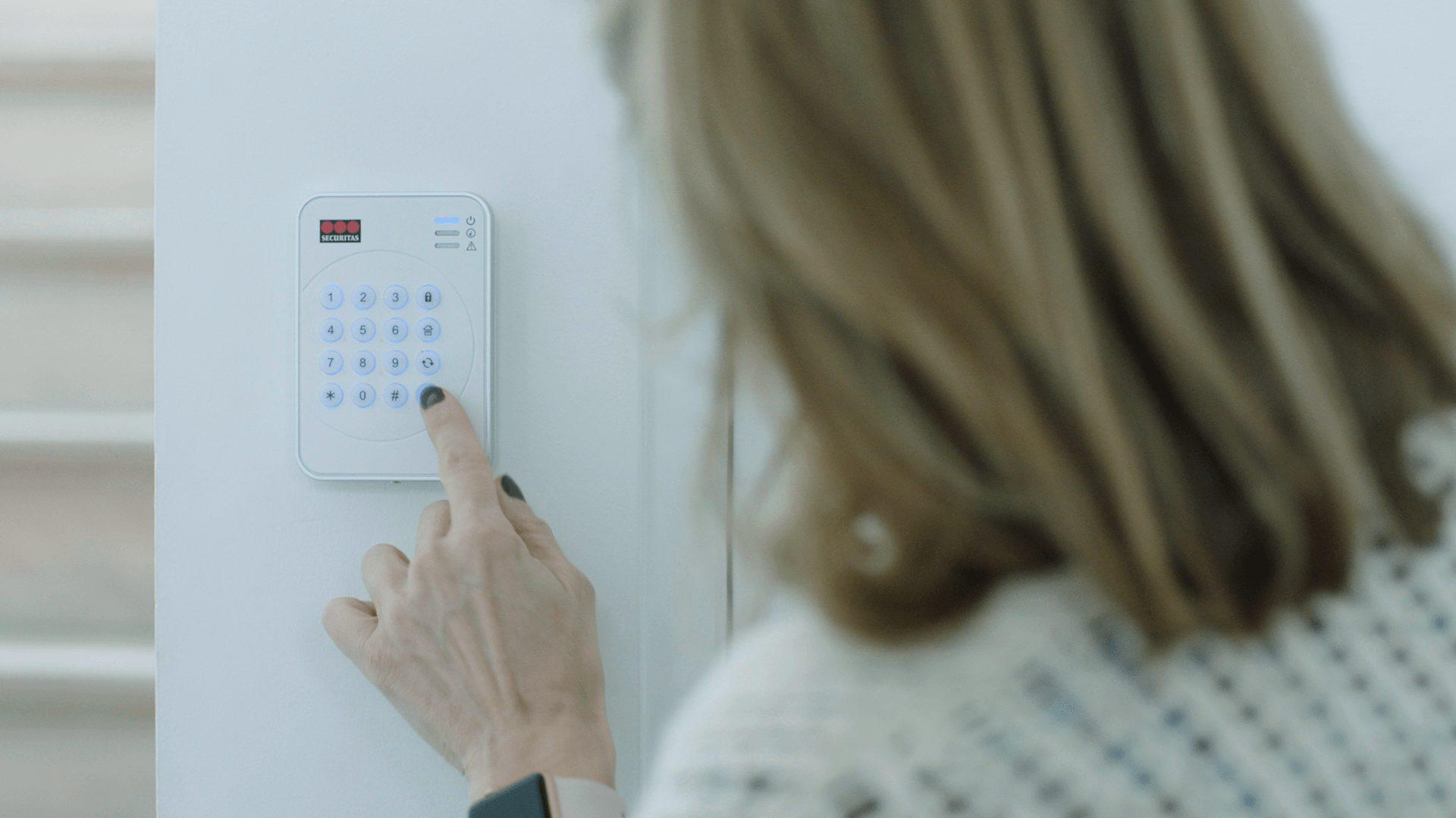 alarme maison moderne