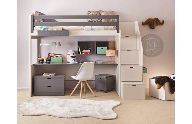 Chambre avec lit mezzanine Adria