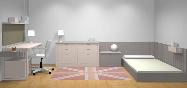 Conception 3D Chambre complète