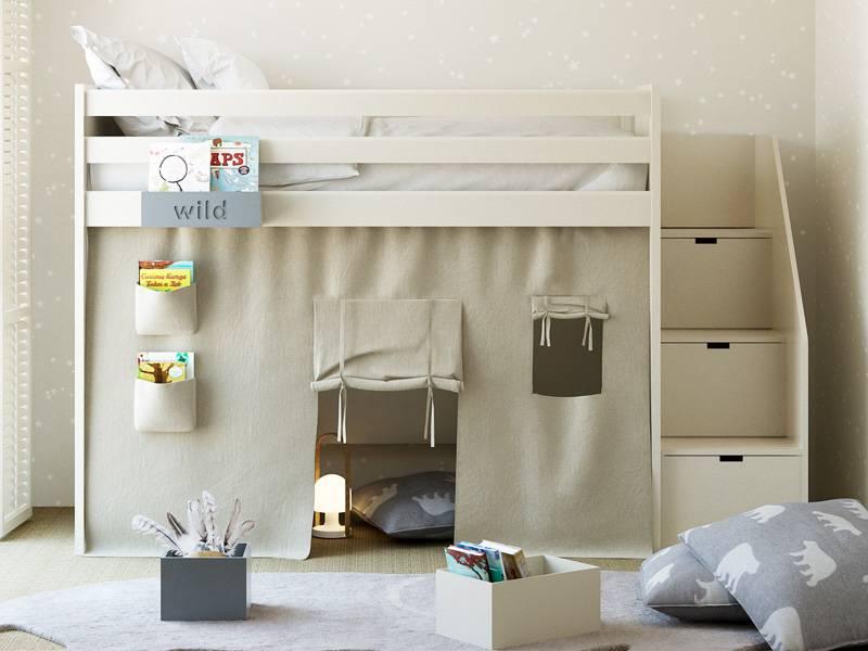 Tipi pour lit hauteur 191 cm