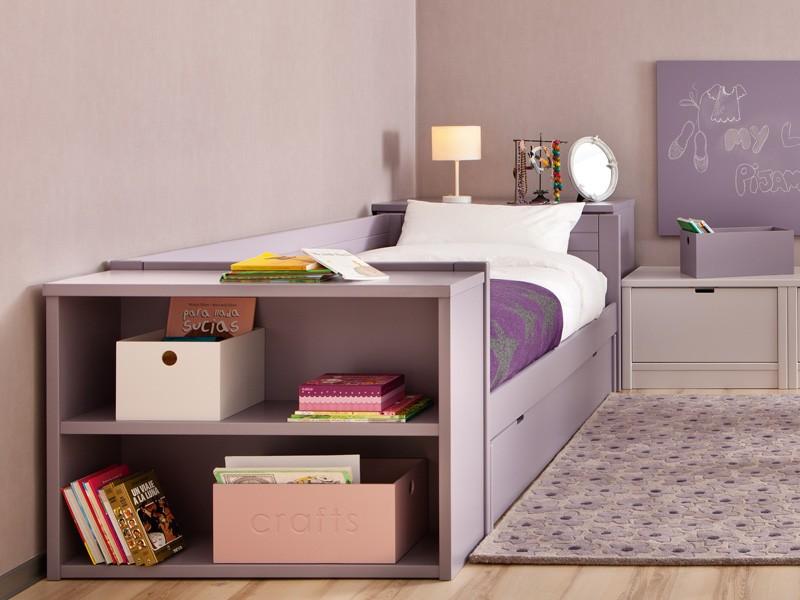 Bibliothèque bout de lit
