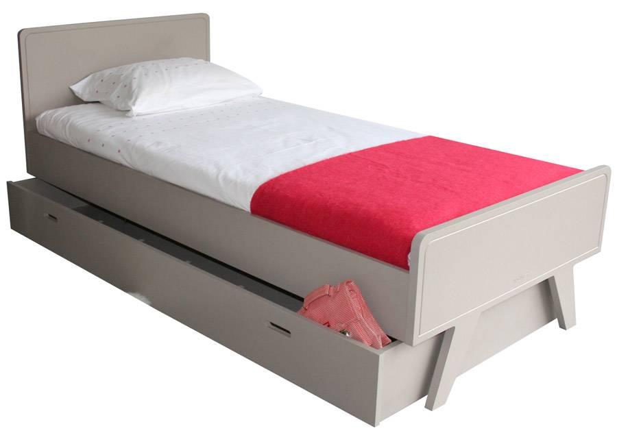 Tiroir-lit ou rangement sur roulettes